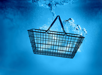 basket underwater
