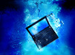 laptop underwater