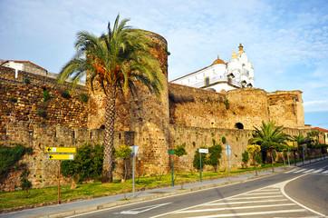 Muralla de Plasencia, provincia de Cáceres, Extremadura, España