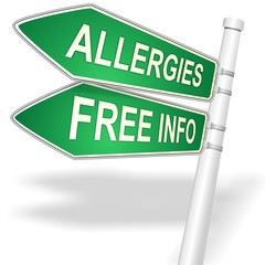 link button for Free Information about ALLERGIES