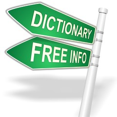 link button for Free Information about DICTIONARY