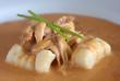 Chicken Paprikash with gnocchi