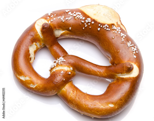Fotobehang Brood A fresh bretzel