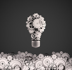 bulb with gears