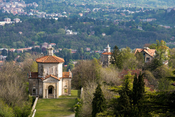 Chapel of Sacro Monte in Varese