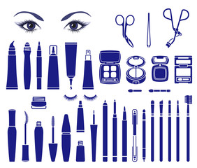 Cosmetics for beautiful eyes