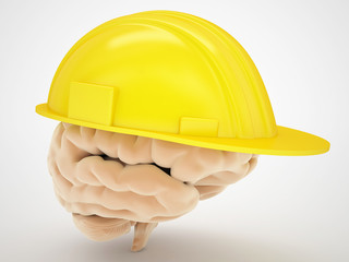 brain protection medical concept