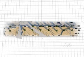 Piazza Progetto Pedane Architettura