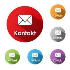 """""""KONTAKT"""" Buttons (Kundenservice Rufen Sie Uns Hotline Knopf)"""