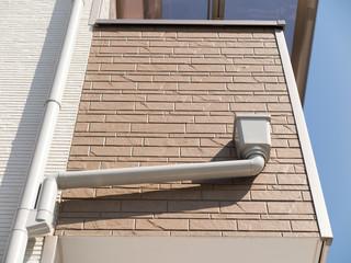 住宅の雨樋
