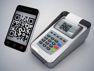 qr code with new way to pay