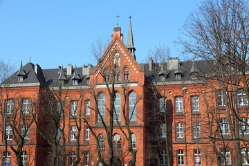 Poland - Bytom - college building