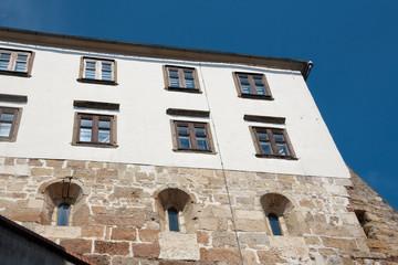 Ptuj medieval wall castle