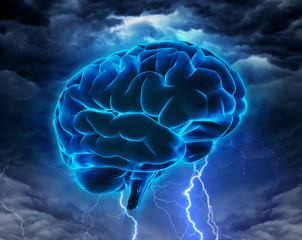 brainstorm or intelligence powerful concept