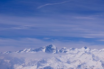 Dolomites Mountains Madonna Di Campiglio