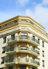 immeuble paris,architecture parisienne
