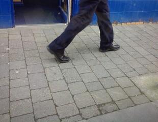 sidewalk walking