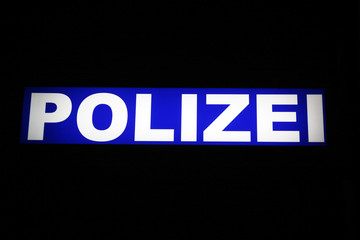 Polizei, German police