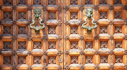 Detalle puerta para fondos y texturas
