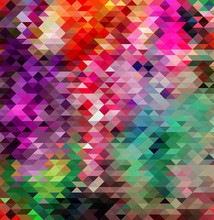 Abstract geometric style colorful background