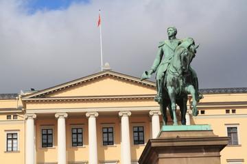 oslo norvegia palazzo reale