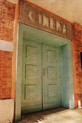 entrée cinéma vintage