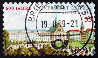 Postage stamp Germany 2009 Leipzig University