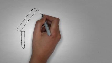 Haus Eigenheim Bau schlüsselfertig