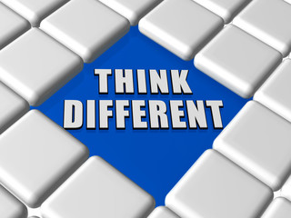think different in boxes