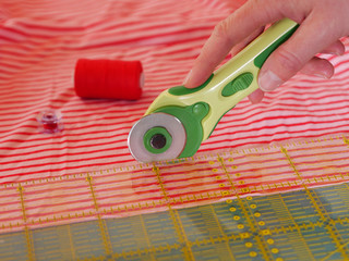 cutting textiles