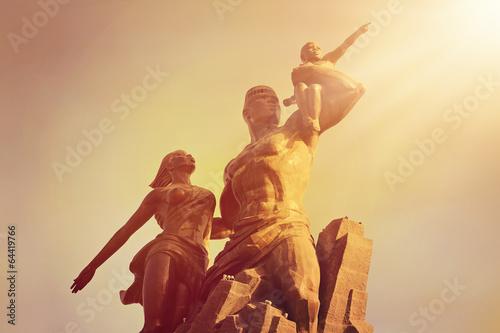 Papiers peints Monument monument de la Renaissance Africaine (Dakar)