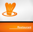 logo restaurant orange