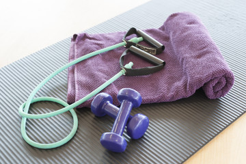 weight and jump- rope