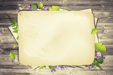 Scrapbooking Natural Background