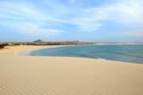 Fototapety Praia de Chaves Beach, Boa Vista, Cape Verde