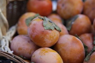 market persimmons
