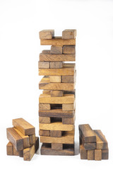 Blocks of wood, JENGA Game
