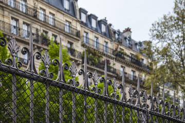 Paris, France. Typical architectural details