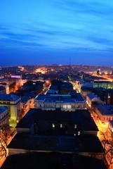Night cityscape. Russia. Rostov-on-Don.