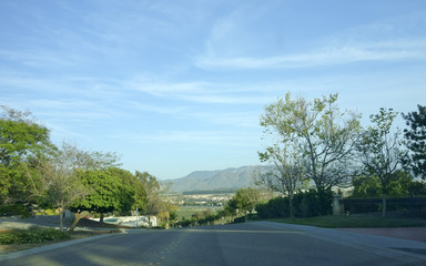 Camarillo Streets and Mountains, CA