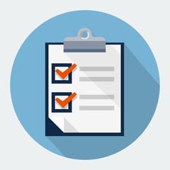 Vector  survey icon