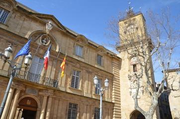 place de l'Hôtel-de-Ville, Aix en Provence