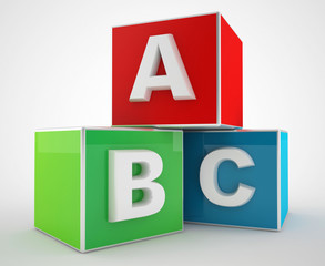 abc blocks for education