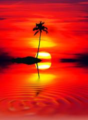la isla del sol naciente