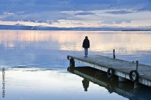 Fotobehang Een Hoekje om te Dromen el niño solitario