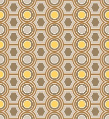 background cult 70s geometric beige yellow