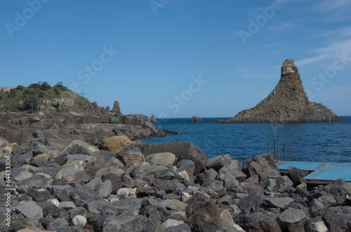 Poster Cyclopean Isles, Aci Trezza, Sicily, Italy
