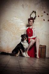 Hund und Göttin