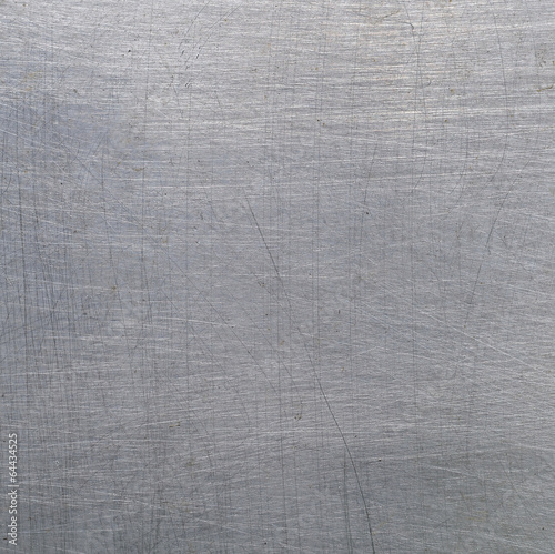 canvas print picture Scratched metal texture