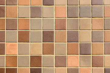 pared de azulejos